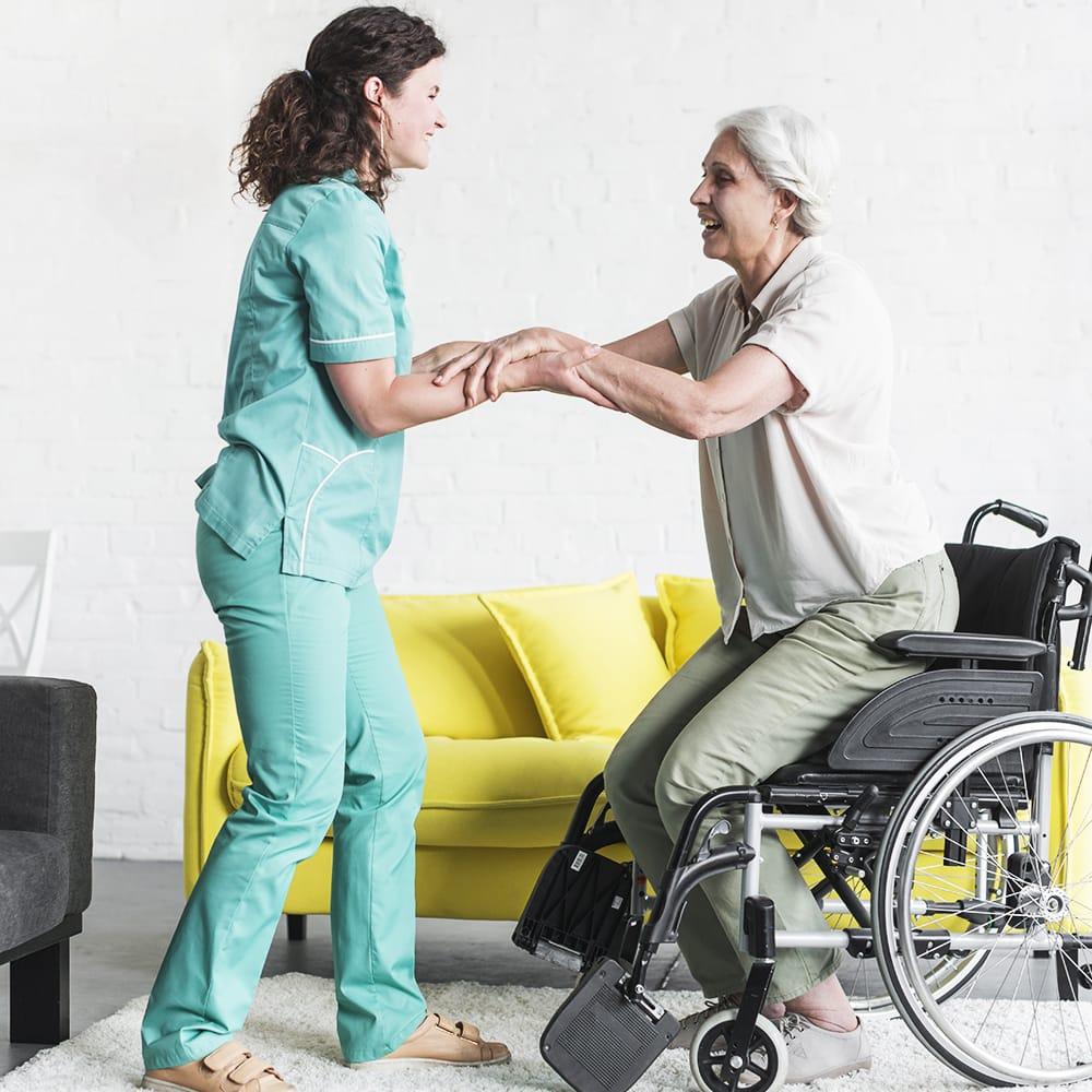 Aide pour personnes agées